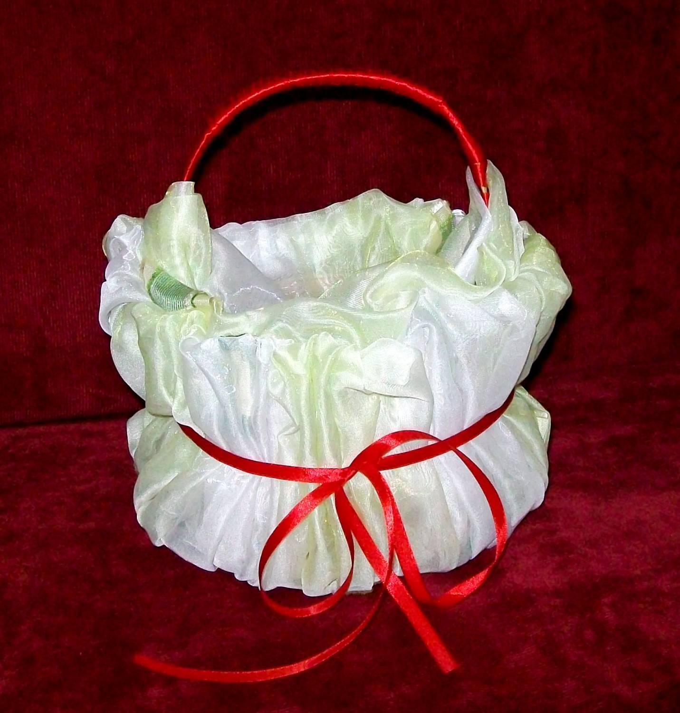 Корзинки для лепестков роз на свадьбе фото