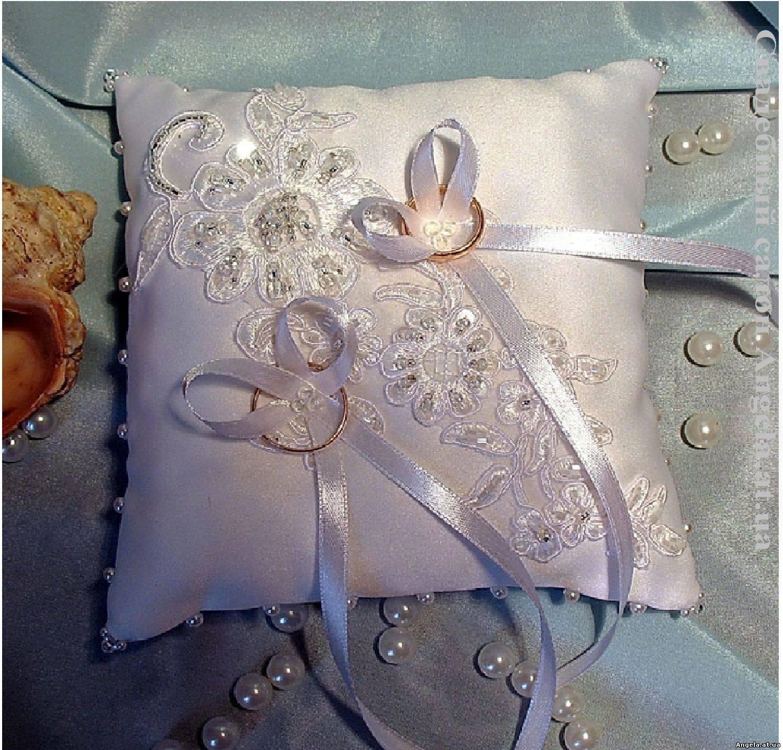 Как сшить подушечку для колец на свадьбу 71