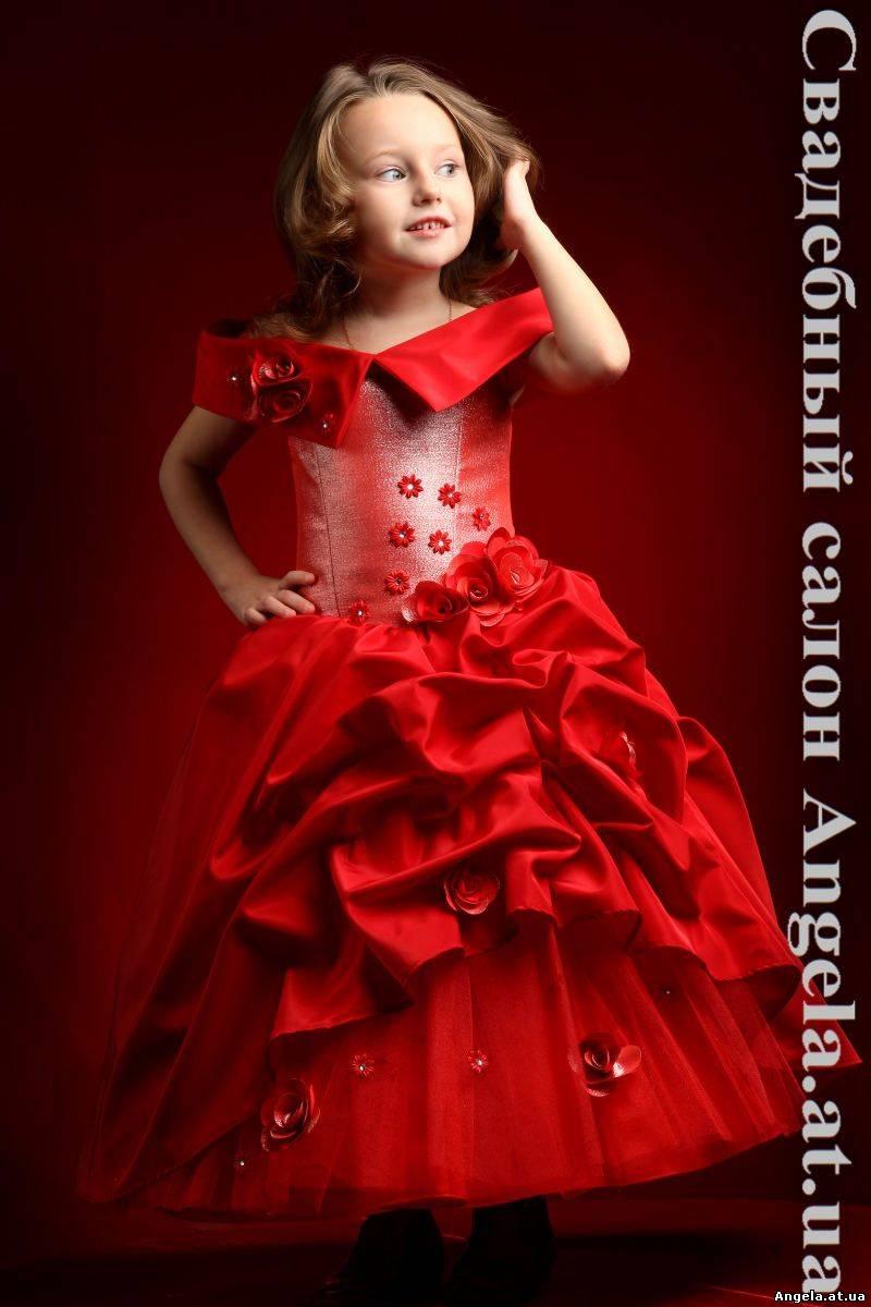 Вечерние детские платья своими руками